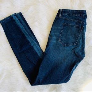 3X1 3 x 1 High Rise Mixed Ankle Skinny Jeans